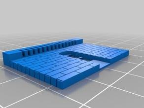 Customized Modular Building; 3 Windows Wide, 1 Door
