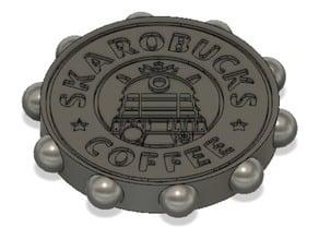 Dalek 'SkaroBucks Coffee' Coin from Doctor Who