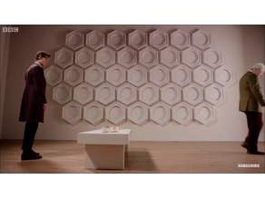 Tardis Roundel (Hexagon from 50th Anniversary)