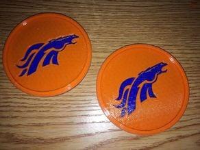 Denver Broncos Coaster