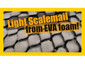 EVA foam scale maile chainmail