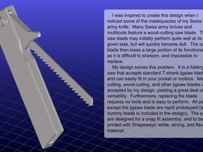 Folding Pocket Saw v1.1