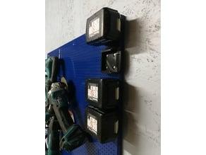 Makita battery holder for pegboard Ø4x12mm