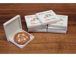 pizza box [playfab 182003 - playmobil compatible]