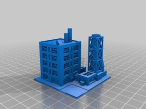 Industrial Complex (Compatible with Monsterpocalypse)