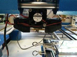 E3D-v6 Clone 30mm Fanholder