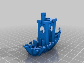 """Voronoi""""Broken Benchy""""- The true( and not so jolly) torture test"""