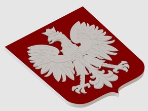 The coat of arms of Poland