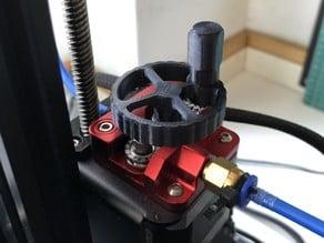 Rolling Crank Extruder Knob Creality Ender 3 / Ender 3 Pro / Cr-10