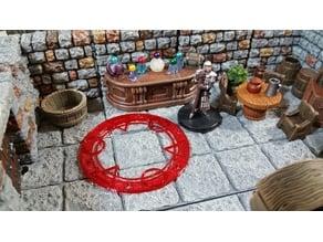 Miniature Arcane Circle