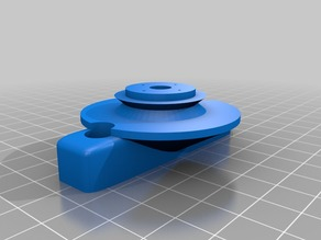 Attachment for Meade 6600 telescope ring for Raspberry pi autoguider