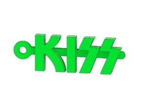 Kiss Logo Keychain