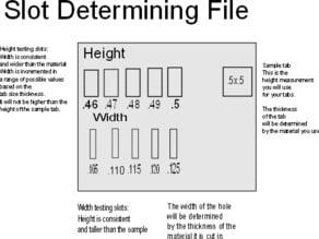 Slot determining file