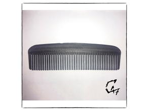 Small beard/hair comb