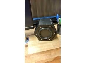 "Hex Speaker Enclosure for Tectonic Elements 3.5"" BMR"