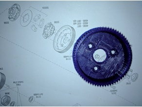 Spur Gear 70 tooth 46p for Traxxas Slash 2WD