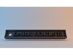 Dark Souls III Keychain