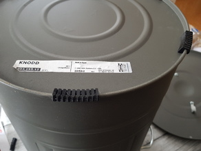 Feet for IKEA Knodd bucket