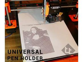 Universal 3D printer pen holder