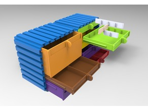 Modular Drawer and transport box