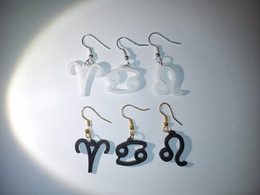 Zodiac Signs Earrings