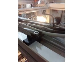 ROBOTUNITS 100mm Alu profile Pneumatic Tube Holder x6