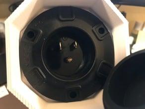 R2-D2 Rear Octagon Port Power Modification