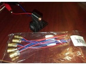 laser module gopro mount