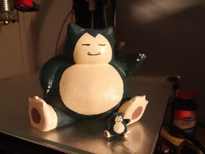 Snorlax - High-res, No Support