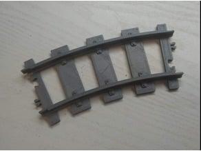 Lego rails curve