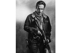 Rick Grimes lithophane The Walking Dead
