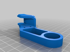 CR-10 Y-Axis Drag Chain Bed End Remake