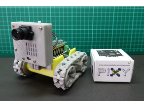 SMARS modular robot + Pixy CMUcam5