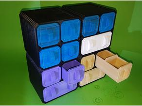 Scifi Storage Crates (Stackable)