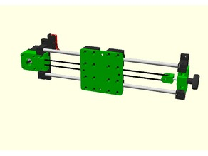 X axis for DIY 3D printer