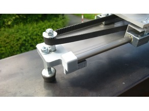 IGUS camera slider return pulley holder
