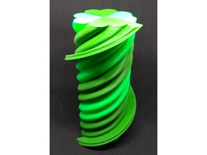 Twisted 4 Leaf Clover - Single Extruder