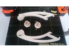 Filament spool holder (25mm conduit) for the ORIGINAL PRUSA I3 MK2