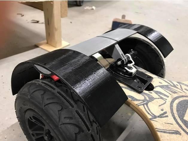 Mudshield By Kohlab Evolve Gt Electric Skateboard At
