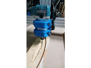 OX CNC Spindle clamp