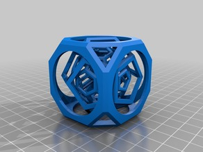 Multi-layer hollow polyhedron