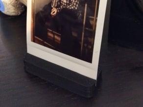 Photo stand for Fujifilm Instax photos