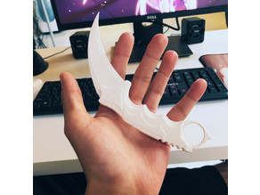 3D Printed Knife Karambit [Awesome and 100% useful]