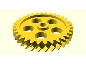 Parametrisches Pfeilrad / Parametric Herringbone Spur Gear