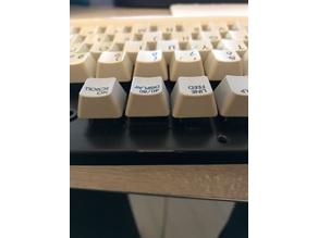 Commodore 64 / 128 latching Key Adapter