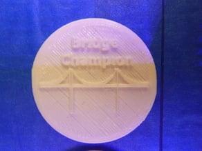 Bridge Champion coin