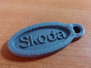 Skoda keychain