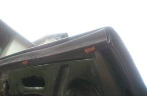 Golf Mk2 Bonnet Sealing Clip