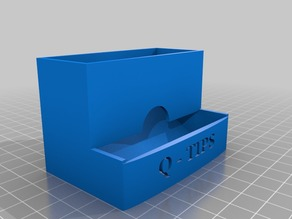 Q-Tip Dispenser Box
