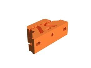 Y Belt holder for Prusa i3 MK2s - MK2.5/s on Half Bear Upgrade